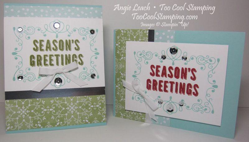 Seasons greetings - two cool