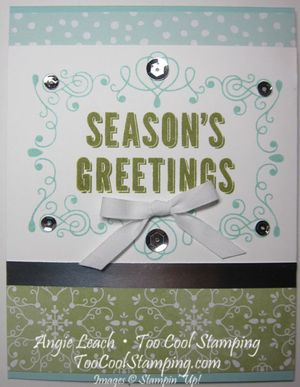 Seasons greetings - olive v