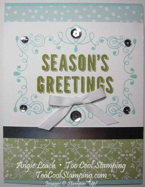 Seasons greetings - olive v