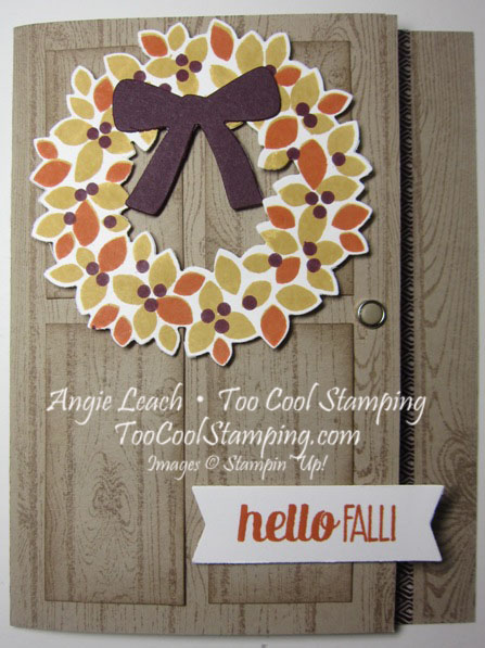 Fall wreath - bliss