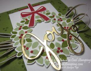 Wondrous Wreath Banner - old olive joy 2