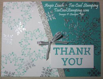 Letterpress bermuda diagonal - thank you
