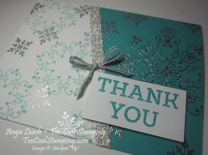 Letterpress bermuda diagonal - thank you 3