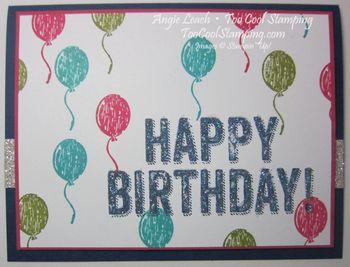Birthday surprise - balloons