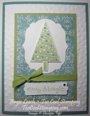 Merry & bright tree - v