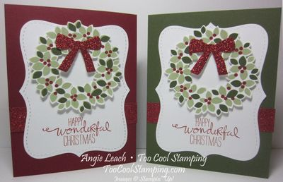 Wondrous wreath top note - two cool
