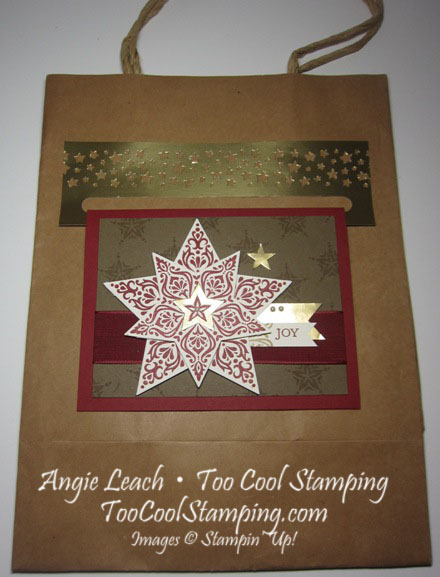 Bright & beautiful card hanger