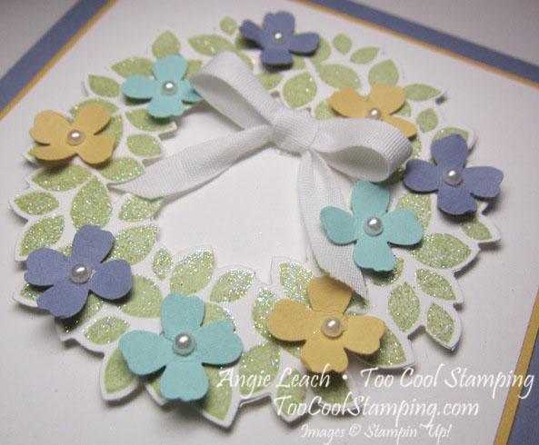 Spring wreath - wisteria 2