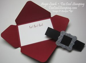 Santa buckle - gift card holder 2