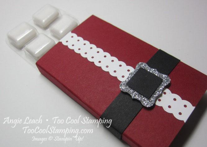 Santa buckle - gum holder 2