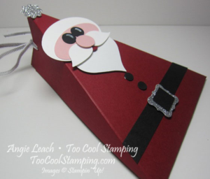 Santa buckle - triangle box 2