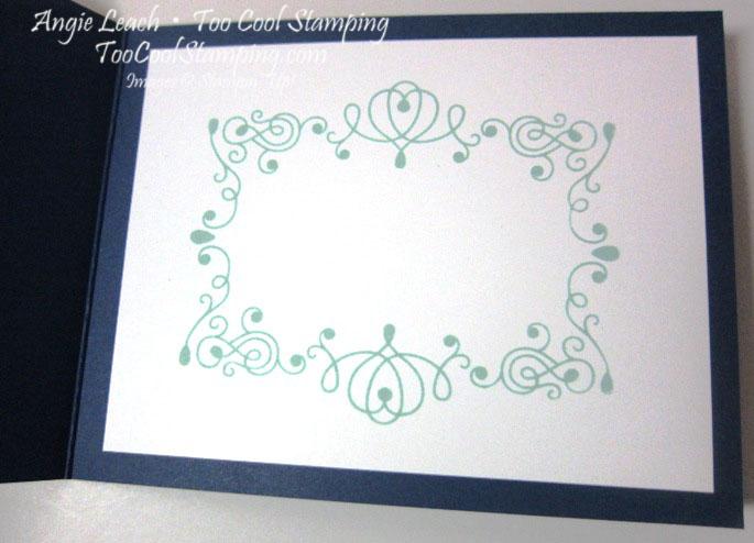 Letterpress greetings - inside