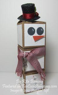 Rita - tiny treat boxes snowman copy