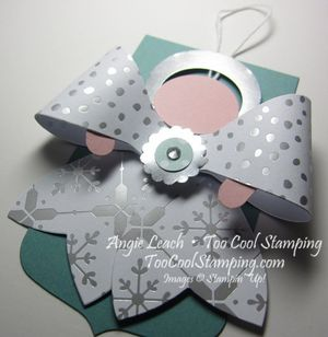 Gift bow - angel 2
