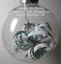 Rita - all is calm glass ornament 2 copy