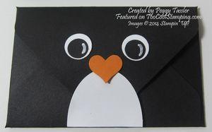 Peggy - gift card holder peguin copy