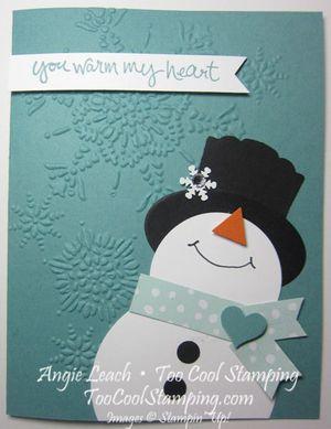 Snowman - warm my heart
