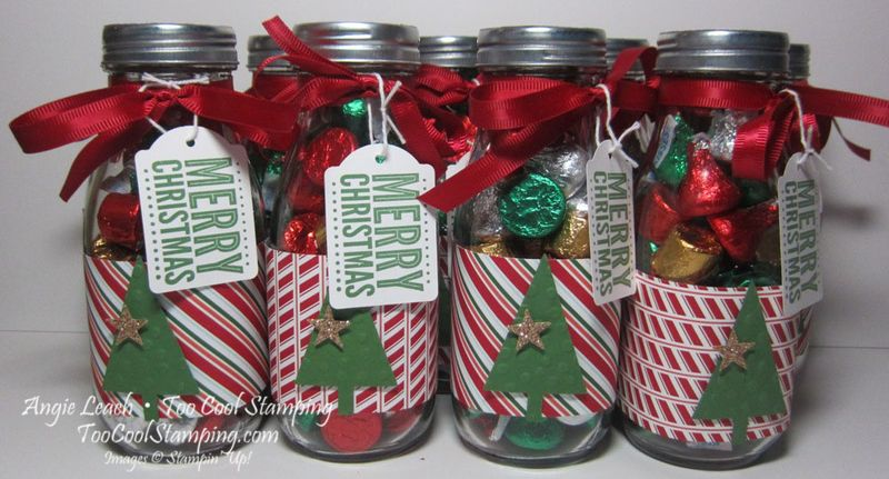 Neighbors gift - candy jars 1