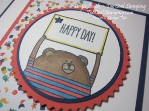 Cheerful critters - bear 3