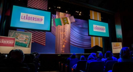 Leadership 2015 stage