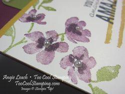 Painted petals diorama - razzleberry 3