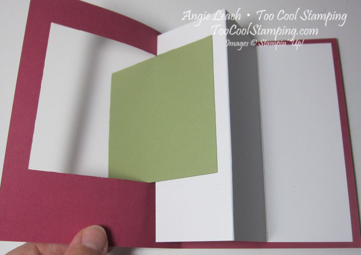 Sheltering tree pop out swing card - how to 3