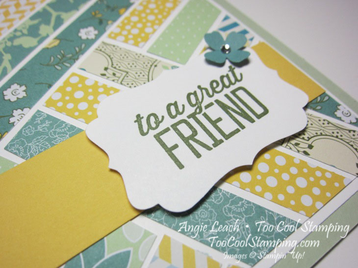 All abloom herringbone - friend 3