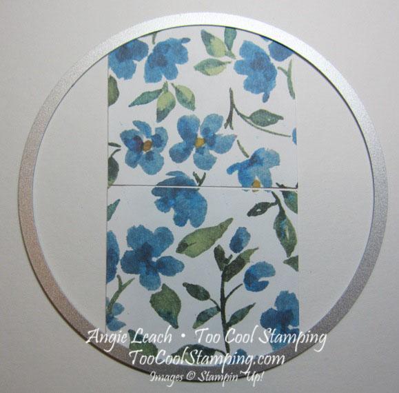 Painted blooms - ghirardelli holder tutorial 4