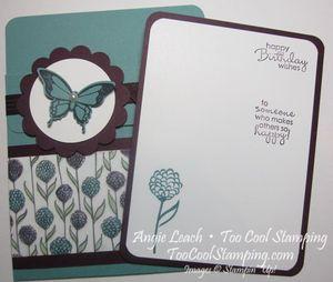 Perfection pocket card - lagoon 5