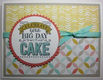 Big day eat cake