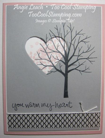 Sheltering tree heart - smoky
