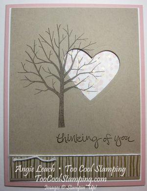 Sheltering tree heart - crumb