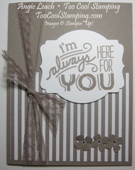 Taupe friendly wishes - always 1