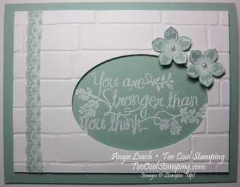 Heartfelt sympathy wall - mint