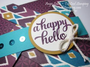 Bohemian pinwheel cards - blackberry hello2