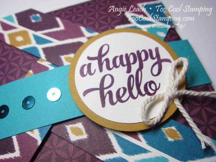 Bohemian pinwheel cards - blackberry hello2