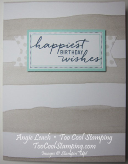 Watercolor Wishes - birthday taupe stripes2