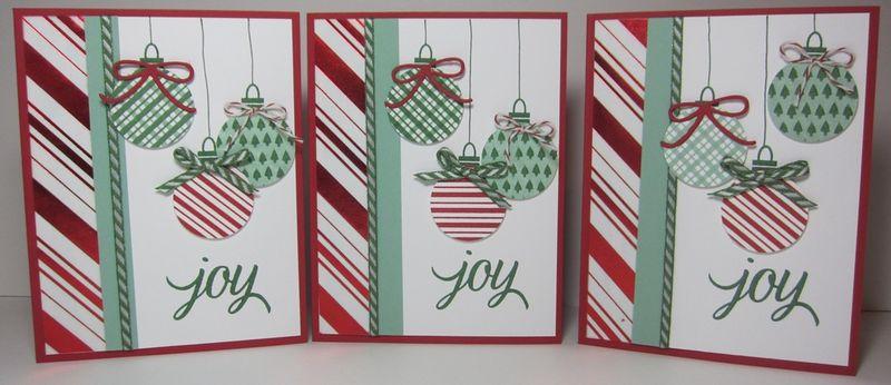 Stripes ornaments - 3 cool