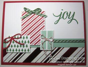 Stripes presents - trees