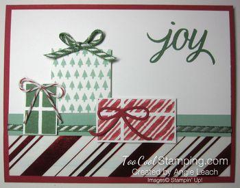 Stripes presents - kissed stripes