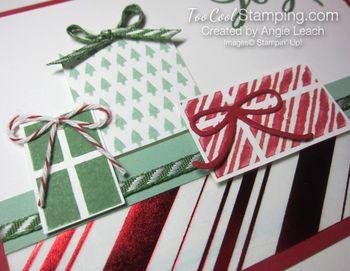 Stripes presents - kissed stripes 2