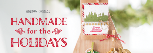Handmade for the holidays banner