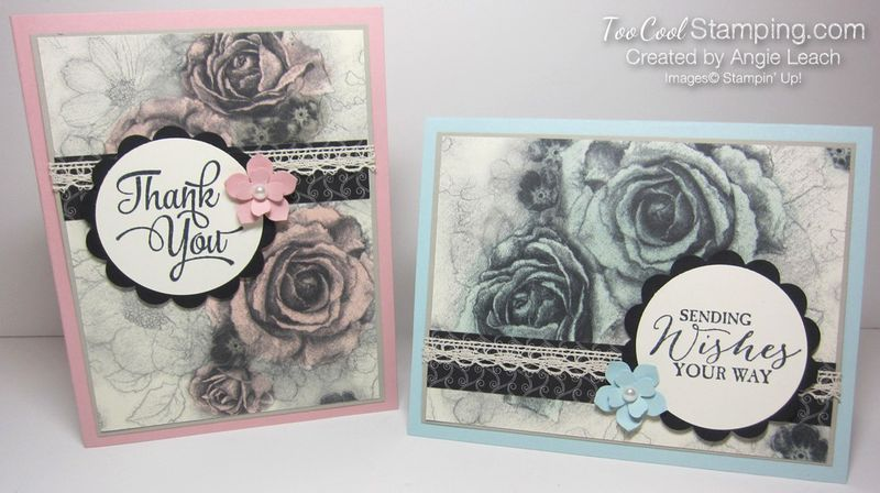 Timeless elegance tinted roses - two cool