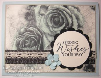 Timeless elegance tinted roses - sky