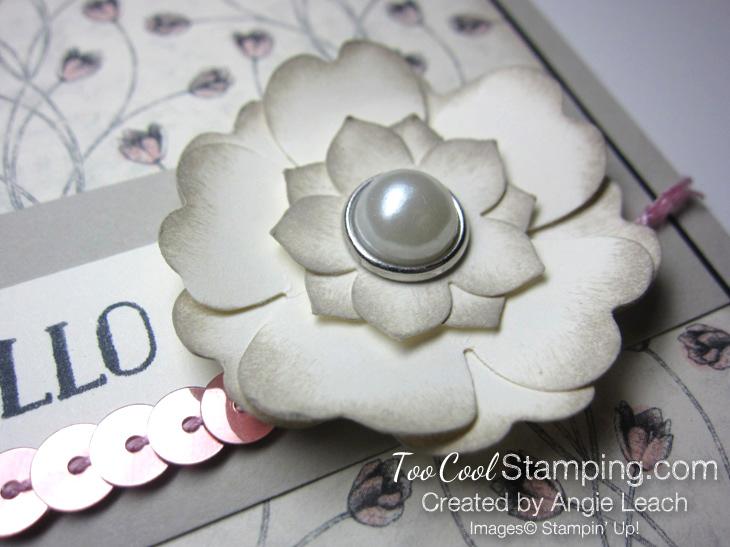 Timeless elegance petite floral - blush 4