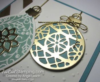 Embellished ornaments lagoon 2.5