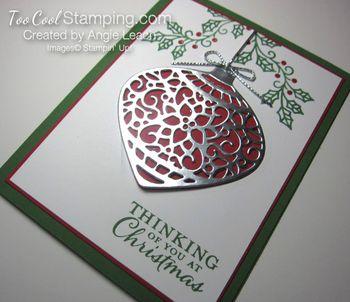 Embellished ornaments silver - 2
