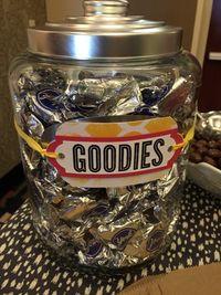 Goodies jar