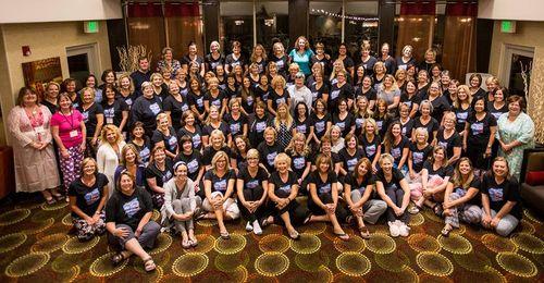 Founders Circle 2015 - group photo pajamas