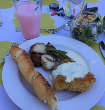 Final dinner - food